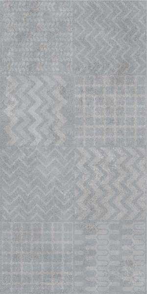 - 600 x 1200 mm (24 x 48 polegadas) - delmon-grey-decor